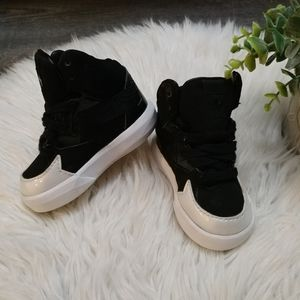 Adidas baby high top sneaker size 4k